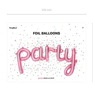 Pink Party Phrase Balloon I My Dream Party Shop I UK