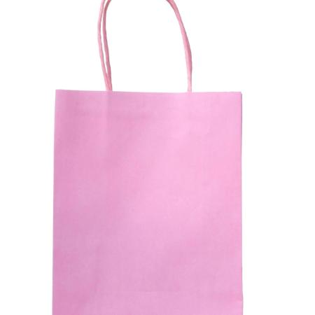 Light Pink Party Bags with Handle I Pink Party Supplies I My Dream Party Shop UK