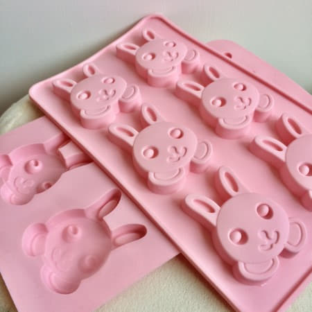 Pink Easter Bunny Mould Twin Pack I Easter Party Supplies I My Dream Party Shop I UK