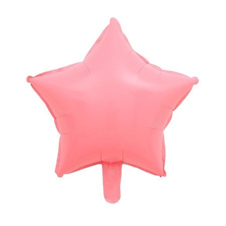 Candy Macaroon Star Foil Balloons x 10
