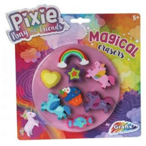 Unicorn Assorted Shaped Erasers 8 Pack - My Dream Party Shop