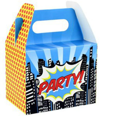 Pop Art Superhero Party Boxes Ginger Ray I My Dream Party Shop I UK