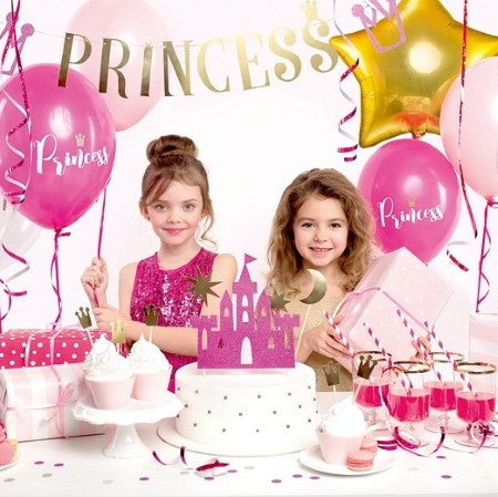 Gold Princess Garland I Princess Party Supplies I My Dream Party Shop I UK