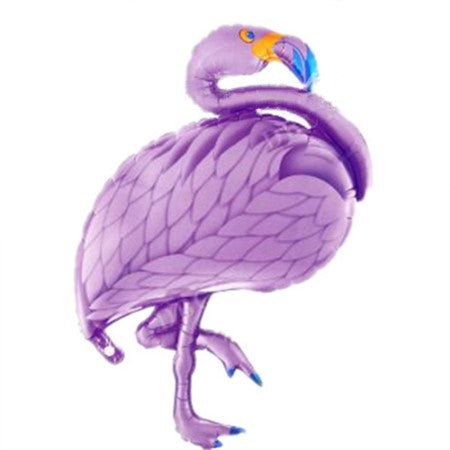 Giant Purple Flamingo Foil Balloon I Flamingo Party Decorations I My Dream Party Shop I UK