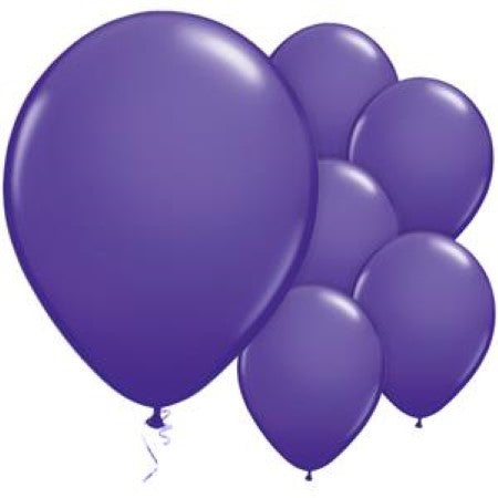 Qualatex 11 Inch Purple Violet Balloons I My Dream Party Shop I UK