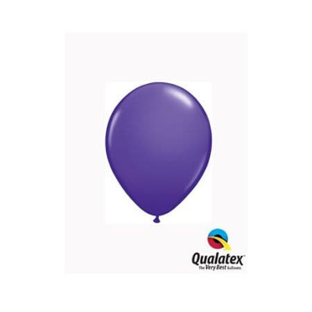 Purple Violet 5 Inch Balloons by Qualatex I Tiny Party Balloons I My Dream Party Shop UK