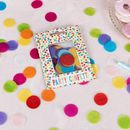 Rainbow Tissue Confetti I Rainbow Party Decorations I My Dream Party Shop UK