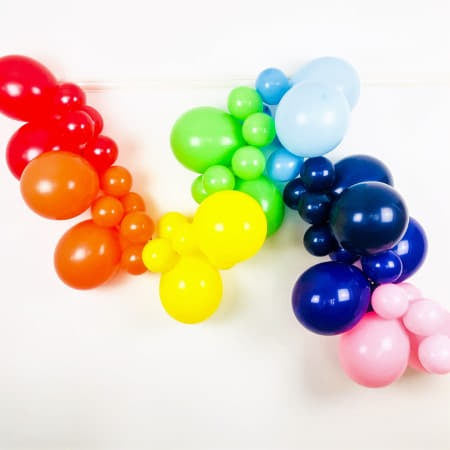 Rainbow Balloon Garland Kit I Rainbow Party Supplies I My Dream Party Shop UK