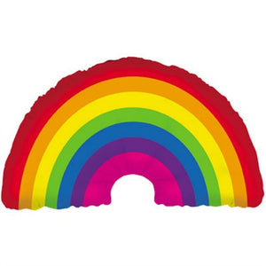 Rainbow Foil 34 inch Balloon - My Dream Party Shop