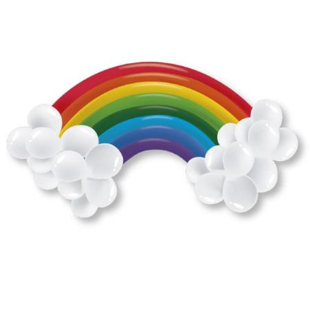 Rainbow Balloon Kit for Rainbow Party - My Dream Party Shop