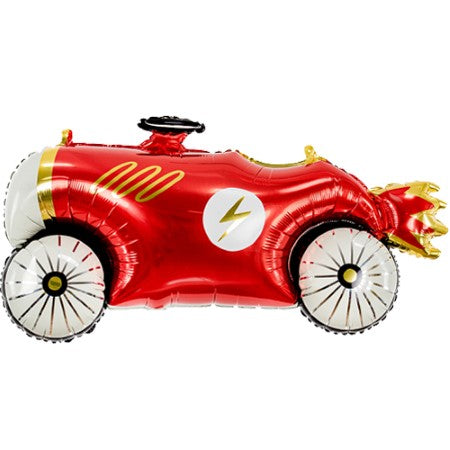 Retro Red Car Foil Balloon I Fun Foil Supershapes I My Dream Party Shop