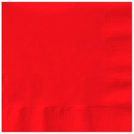 Red Napkins I Modern Party Supplies I My Dream Party Shop UK