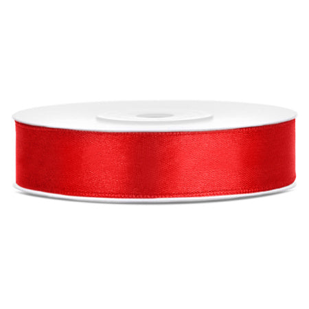 Red Satin Party Decoration Ribbon I My Dream Party Shop I UK