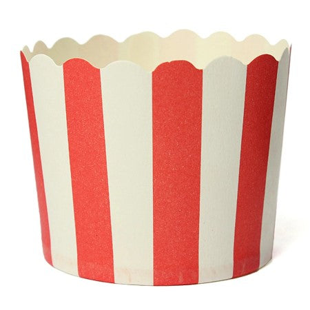 Red and White Striped Baking Cups I Greatest Showman Tableware & Decorations I My Dream Party Shop I UK