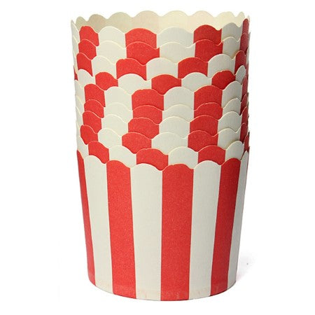 Red and White Striped Baking Cups I Pirate Party Tableware & Decorations I My Dream Party Shop I UK
