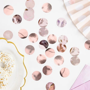 Rose Gold Foil Confetti Circles I My Dream Party Shop I UK