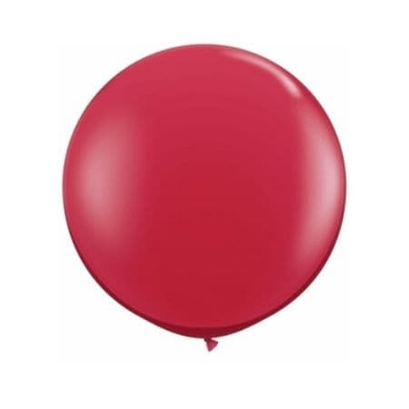 Ruby Red 24 inch Balloon I Giant Balloons I UK