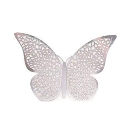 Silver Butterfly Decorations I Silver Party Decorations I UK