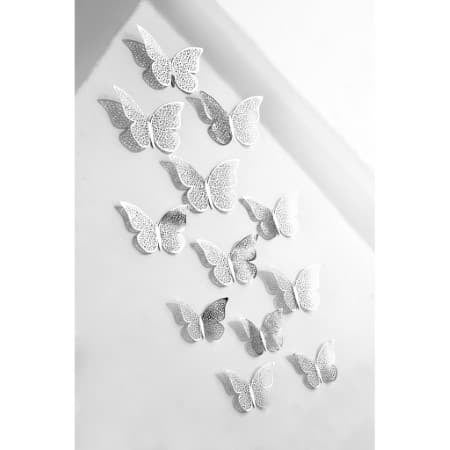 Silver Butterfly Decorations I Silver Wedding Decorations I UK