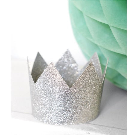 Princess Party Silver Glitter Crown Table Scatter Confetti Girly Birthday 14g