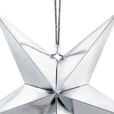 Silver Mirror Star I My Dream Party Shop I UK