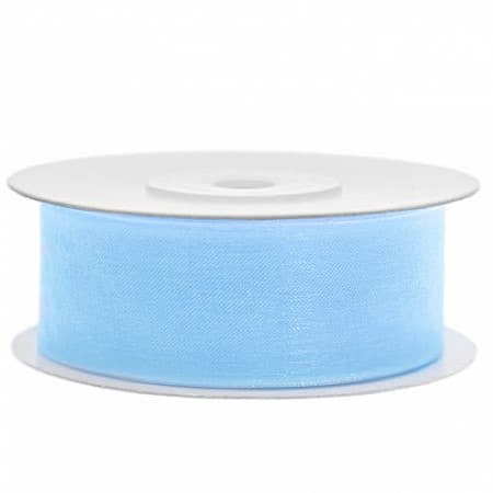Sky Blue Chiffon Ribbon I Pretty Party Accessories and Decorations I UK
