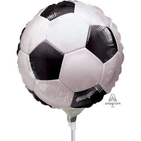 Small Black and White Football Balloon I Football Party Supplies I My Dream Party Shop UK