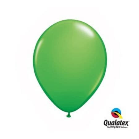 Emerald Green 11 Inch Balloons by Qualatex I Green Party Balloons and Decorations I My Dream Party Shop I UK