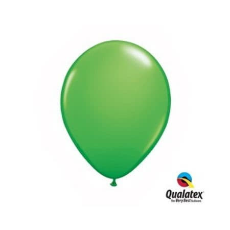 Spring Green 5 Inch Balloons by Qualatex I Cool Party Balloons I UK