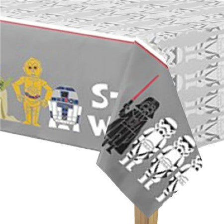 Modern Star Wars Tablecover I Star Wars Party Tableware & Decorations I My Dream Party Shop I UK