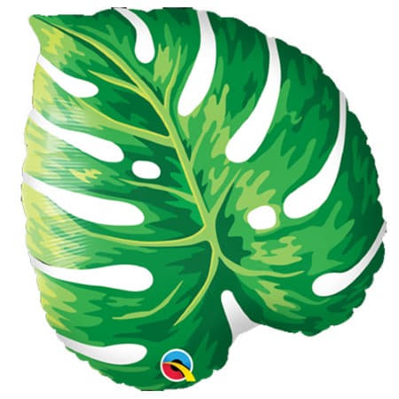 Palm Leaf Foil Balloon I Tropical Party Supplies I My Dream Party Shop UK