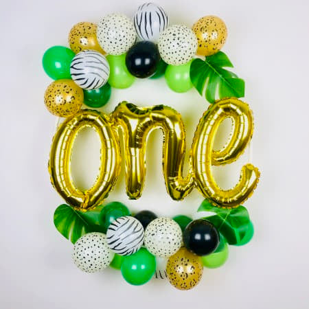 Tropical One Balloon Hoop Kit