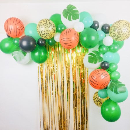 Jungle Balloon Garland Kit I Jungle Themed Party I My Dream Party Shop I UK