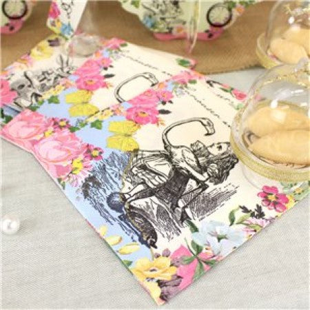 Truly Alice Napkins I Talking Tables I Alice in Wonderland Party I My Dream Party Shop I UK