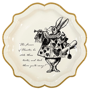 Truly Alice Large Plates I Alice in Wonderland & Mad Hatter Themed Party I My Dream Party Shop I UK