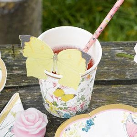 Truly Fairy Cups with Butterfly Detail I Fairy Party I My Dream Party Shop I UK