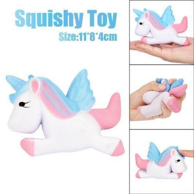 Pastel Pink and Blue Unicorn Squishy - My Dream Party Shop