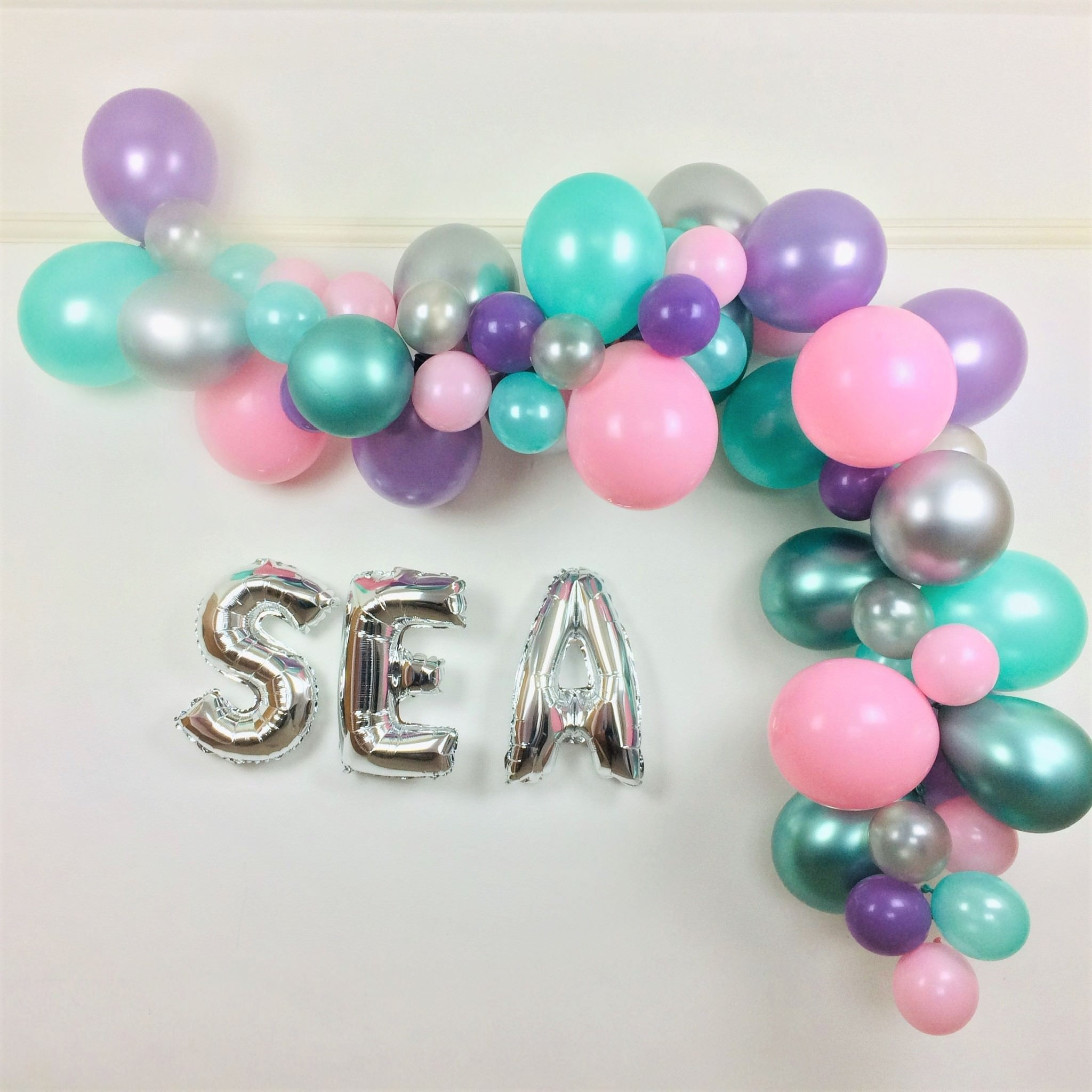 Mermaid Dreams Balloon Garland Cloud Kit I Under the Sea or Mermaid Party Decoration I My Dream Party Shop I UK