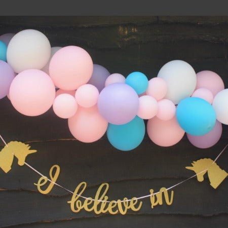 Unicorn Blush Balloon Garland Kit I Balloon Cloud Kits I My Dream Party Shop