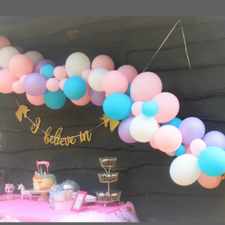 Unicorn Balloon Garland Cloud Installation Kit My Dream Party Shop