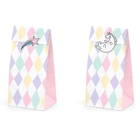 Make a Wish Unicorn Treat Favour Boxes - My Dream Party Shop