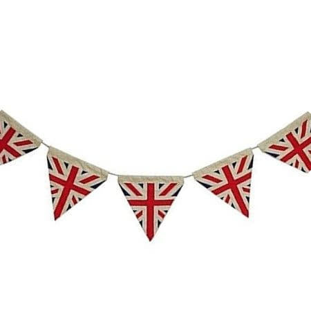 Cotton Retro Union Jack Bunting I British Party Decorations I My Dream Party Shop UK