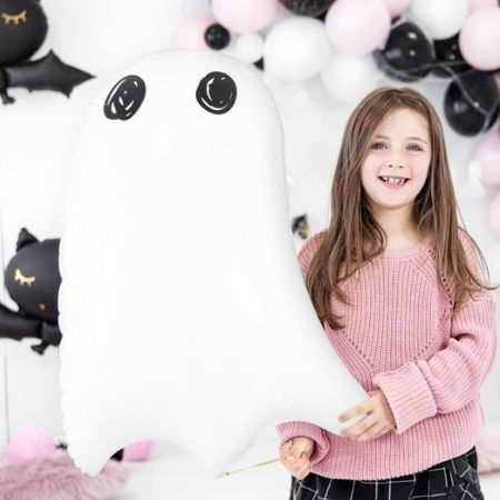 White Ghost Supershape Balloon I Halloween Balloons I My Dream Party Shop UK