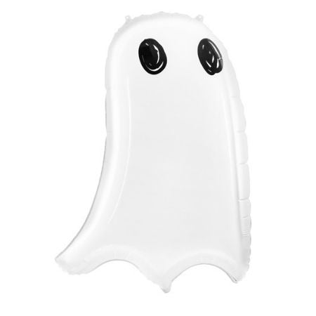 White Ghost Supershape Balloon I Modern Halloween Decorations I My Dream Party Shop UK