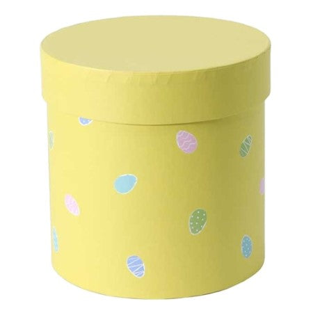 Yellow Easter Egg Hat Box I Easter Party Supplies I My Dream Party Shop