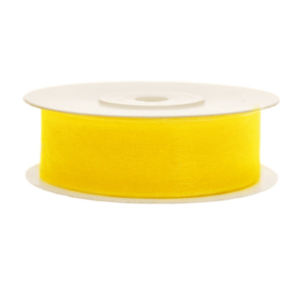 Yellow Chiffon Party Decoration Ribbon I My Dream Party Shop I UK