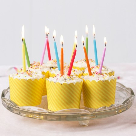 Rainbow Birthday Candles I Cool Cake and Candle Accessories I My Dream Party Shop I UK