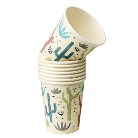 Desert in Bloom Cups I Cowboy Party Supplies I My Dream Party Shop UK