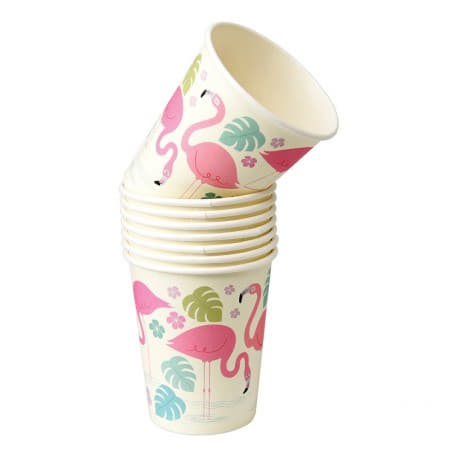 Flamingo Bay Cups I Flamingo Party Supplies I My Dream Party Shop UK