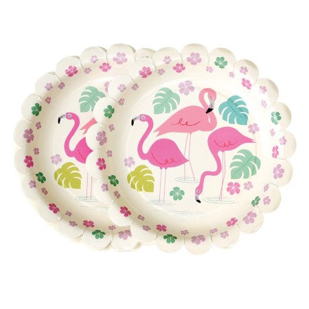 Flamingo Bay Plates I Flamingo Party Supplies I My Dream Party Shop UK